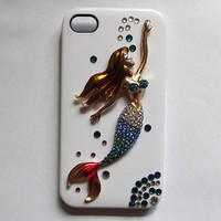 iphone 5 case - mermaid iphone 4 case, crystal iphone 4s cases, iphone 5 case 4s skin