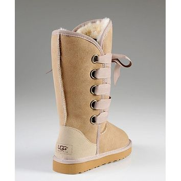 UGG: Bow tie shoes warm shoes