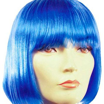 Bob Spb White awesome girls women's wig for Halloween