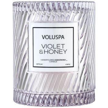 Voluspa Violet & Honey Icon Candle