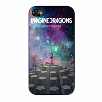 Imagine Dragons Night Visions Galaxy Cover iPhone 4 Case