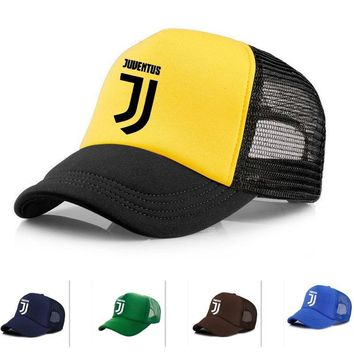 Trendy Winter Jacket Vinyl Name hat Adult RONALDO Caps mesh meret juventus Baseball cap mens Quick dry sports Trucker Hats JJ pvc Hats sun Snapbacks AT_92_12