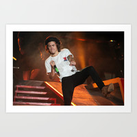 One Direction | Harry Styles Art Print by Chelsea Clough