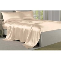 Satin Charmeuse Silky Sheet Set Collection by Levinsohn - Walmart.com