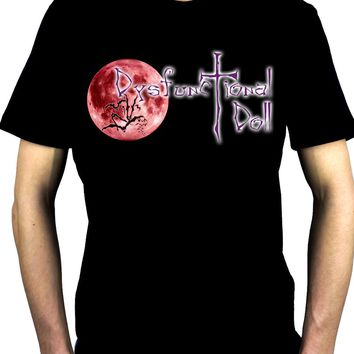 Dysfunctional Doll Original Logo Men's T-Shirt Gothic Clothing