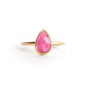 Pirum Ruby ring