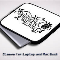Bullet for My Valentine Matthew Tuck iPad 2 3 4 Sleeve for Laptop, Macbook Pro, Macbook Air (Twin Sides)