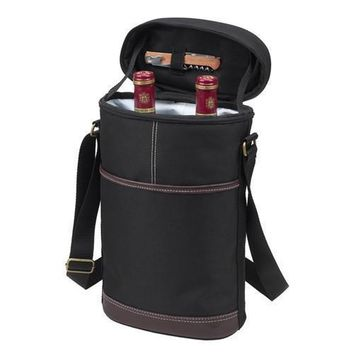 Two Bottle Insulated Carrier | Black