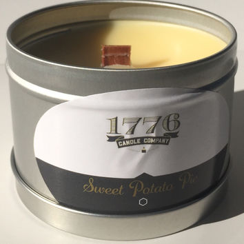 1776 Candle Company - Soy Scented Candle Sweet Potato Pie