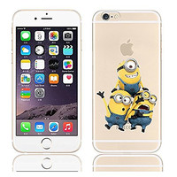 I Phone 6 Case Despicable Me Yellow Minion 16-20 Design Case Cover for Iphone 6 4.7 Inch (Minion_018)