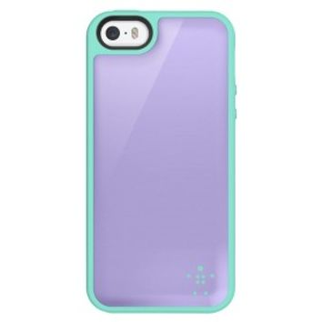 Belkin Candy Grip Cell Phone Case for iPhone 5/5S - Purple/Green (F8W161ttC17)