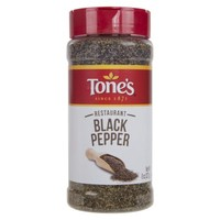 Tones Restaurant Black Pepper Spice, 8 Oz - Walmart.com