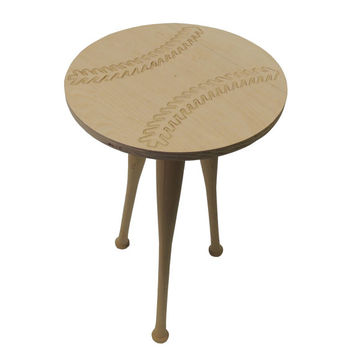 Baseball end table/ Night stand