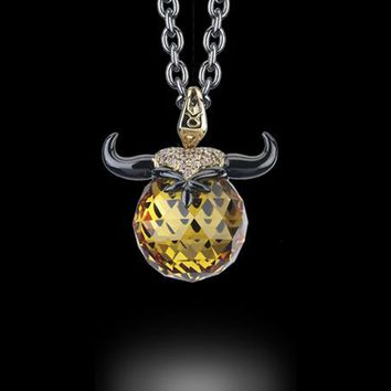 Stephen Webster Taurus Astro Ball Necklace