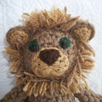 Amigurumi lion doll handmade  Crocheted by crochetedcuddles
