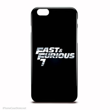 Fast And Furious 7 Case For Iphone Case