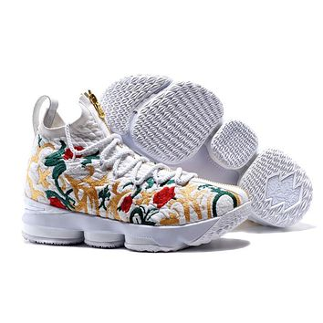 Nike Lebron James 15 Xv Flower Basketball Shoe Us7-12 - Beauty Ticks