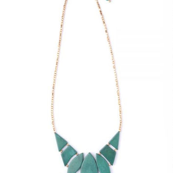 Indra Necklace in Green