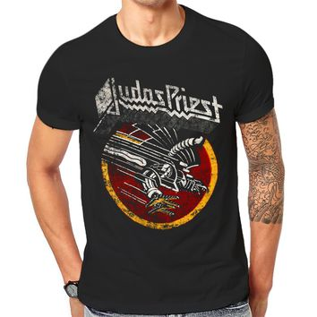 *Online Exclusive* Judas Priest Graphic Print Retro Vintage Band Tee
