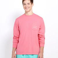 Men's T-Shirts: Vintage Whale Long Sleeve T-Shirt – Vineyard Vines