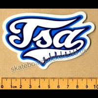 TSA Clothing Skateboard Sticker