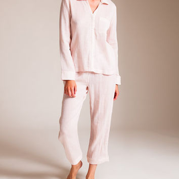 Skin: Double Face Gauze Delany Delilah Pajama | Nancy Meyer