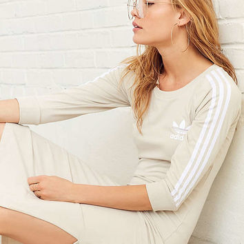 adidas Originals 3 Stripe Midi Dress | Urban Outfitters