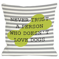 Love Dogs Pillow I