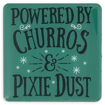 Disney Parks Powered By Churros & Pixie Dust Magnet New