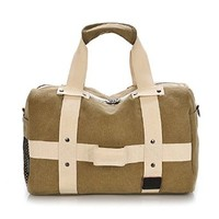 Vere Gloria Canvas Cross Body Bag for Man Woman Casual Travel Hit Color Messenger Bag Shoulder Bags Hiking Daypack
