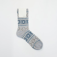 MILKMADE — Anonymous Ism Jacquard Socks - GREY
