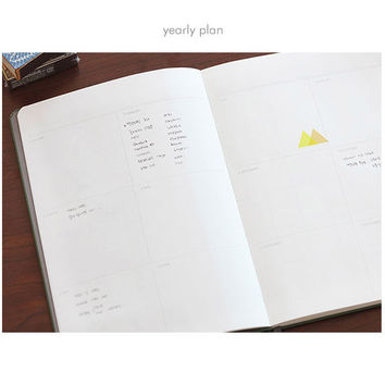 Livework moment large undated diary scheduler