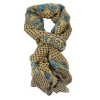 Cozzy Land Polka Dots and Paisley Scarf
