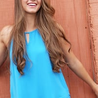 Summer Is Calling Tank {Blue}