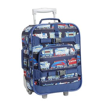Mackenzie Navy Train Luggage | Pottery Barn Kids