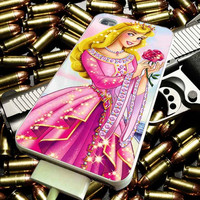 Disney Princess Aurora for iPhone 4/4s/5/5s/5c/6/6 Plus Case, Samsung Galaxy S3/S4/S5/Note 3/4 Case, iPod 4/5 Case, HtC One M7 M8 and Nexus Case ***