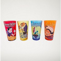 Disney Princess Pint Glass 4 Pack - 16 oz. - Spencer's