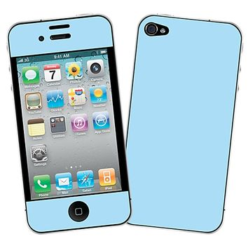 Baby Blue Skin for the iPhone 4/4S by skinzy.com