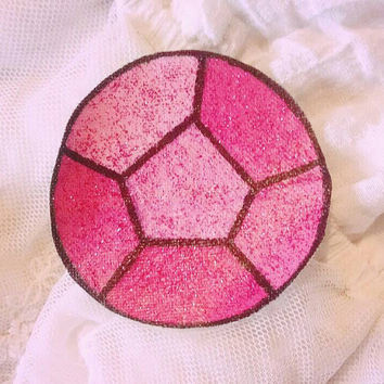 Steven Universe: Small Rose Quartz / Steven Gem Patch