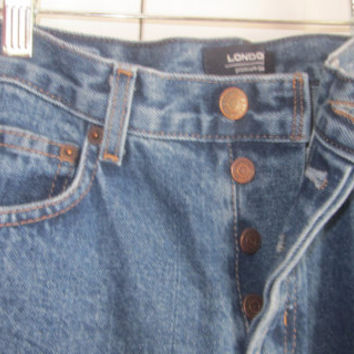 Vintage Jeans High Waisted Jeans Hipster Mom Jeans Button Fly Jeans High Waist Denim Jeans 30 Womens Size 4 Grunge Denim Canada