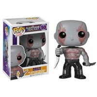 "Funko POP! ""Guardians of the Galaxy"" Drax Vinyl Bobble-Head"