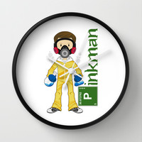 Breaking Bad 'Pinkman' Wall Clock by markmurphycreative