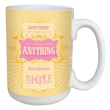 Extra Frosting Mug - Large 15 oz Ceramic Coffee Mug