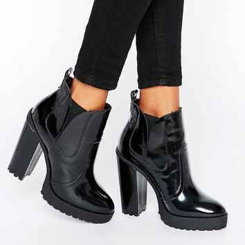 ASOS ELBUS High Chelsea Ankle Boots