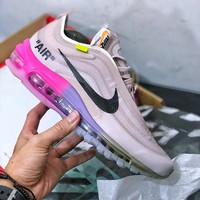 Off-White x Nike Air Max 97 QUEEN Elemental Rose - Best Deal Online