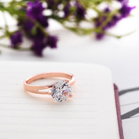 Gorgeous CZ ring