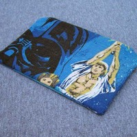 Star Wars Zipper Pouch Darth Vader Luke Skywalker Geek Bag