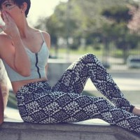 Misty Printed Legging