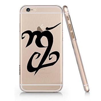 Shadowhunter Runes Fortitude Clear Transparent Plastic Phone Case Phone Cover for Iphone 6 6s_ SUPERTRAMPshop (iphone 6)