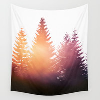 Morning Glory Wall Tapestry by Tordis Kayma